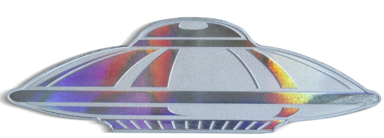 ufo shaped coin